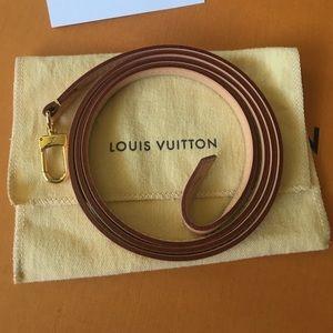 Authentic Louis Vuitton vachetta Favorite Strap